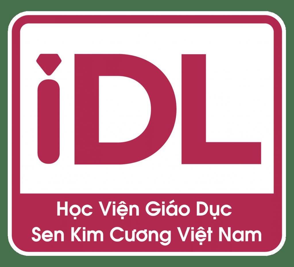 iDL logo âm bảng