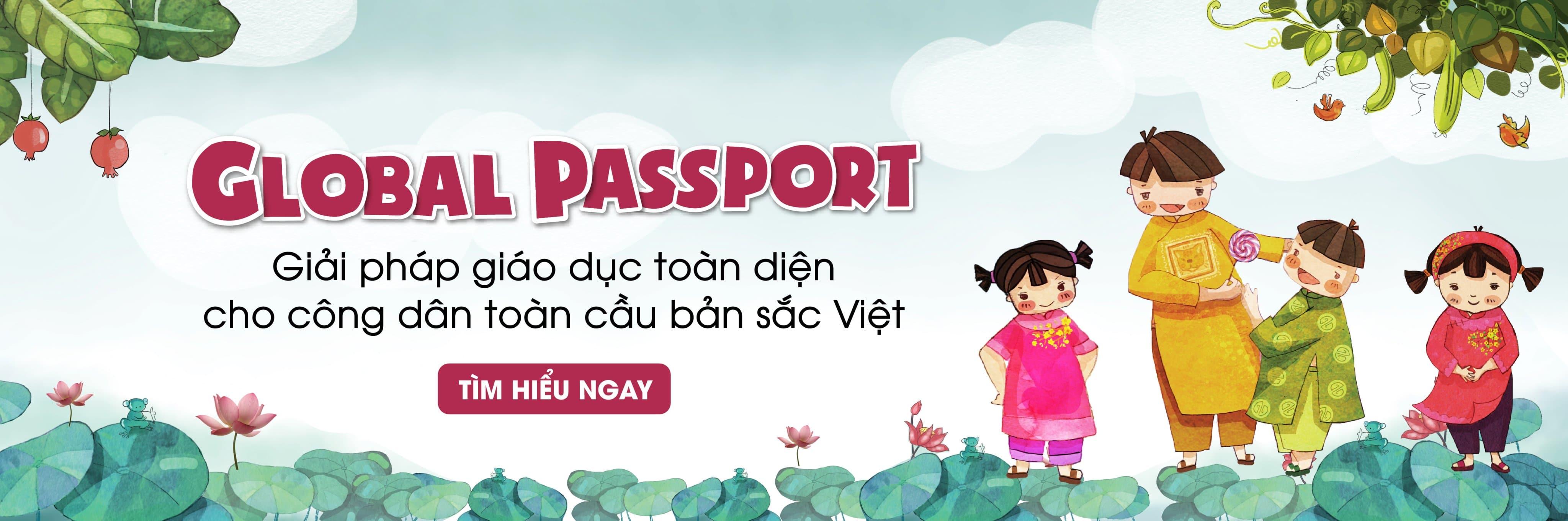 global passport tiếng anh cho trẻ em