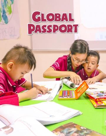 khóa học tiếng anh dành cho bé global passport
