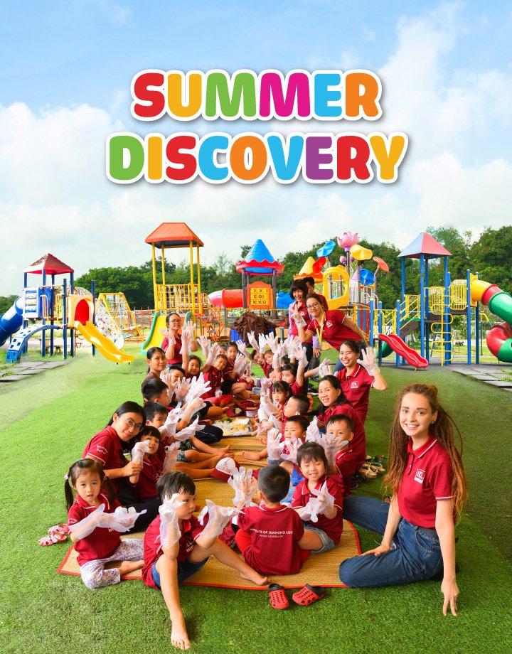 Khóa hè tiếng anh Summer Discovery